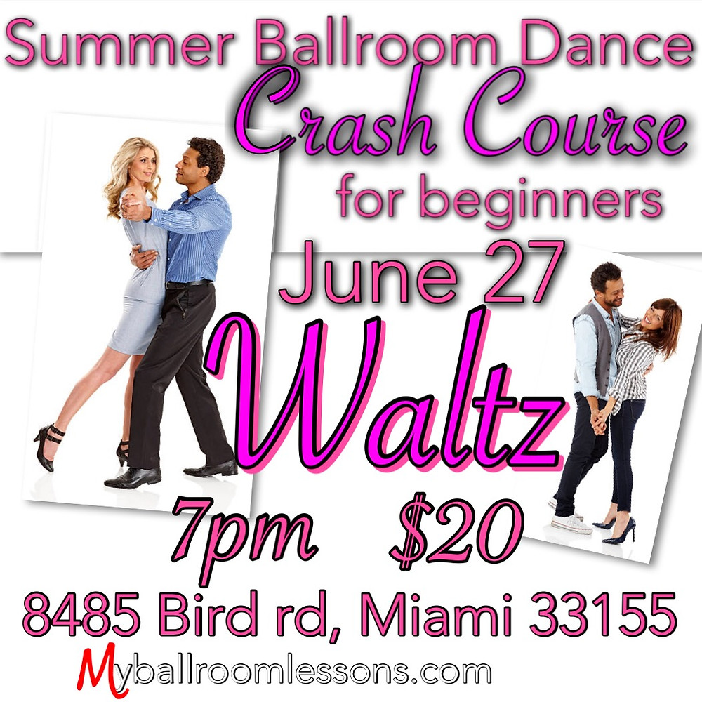 Ballroom dancing Miami 2018