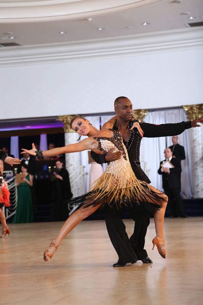 Eugenia and Rodrigue at Miami vibe dance championship 2015