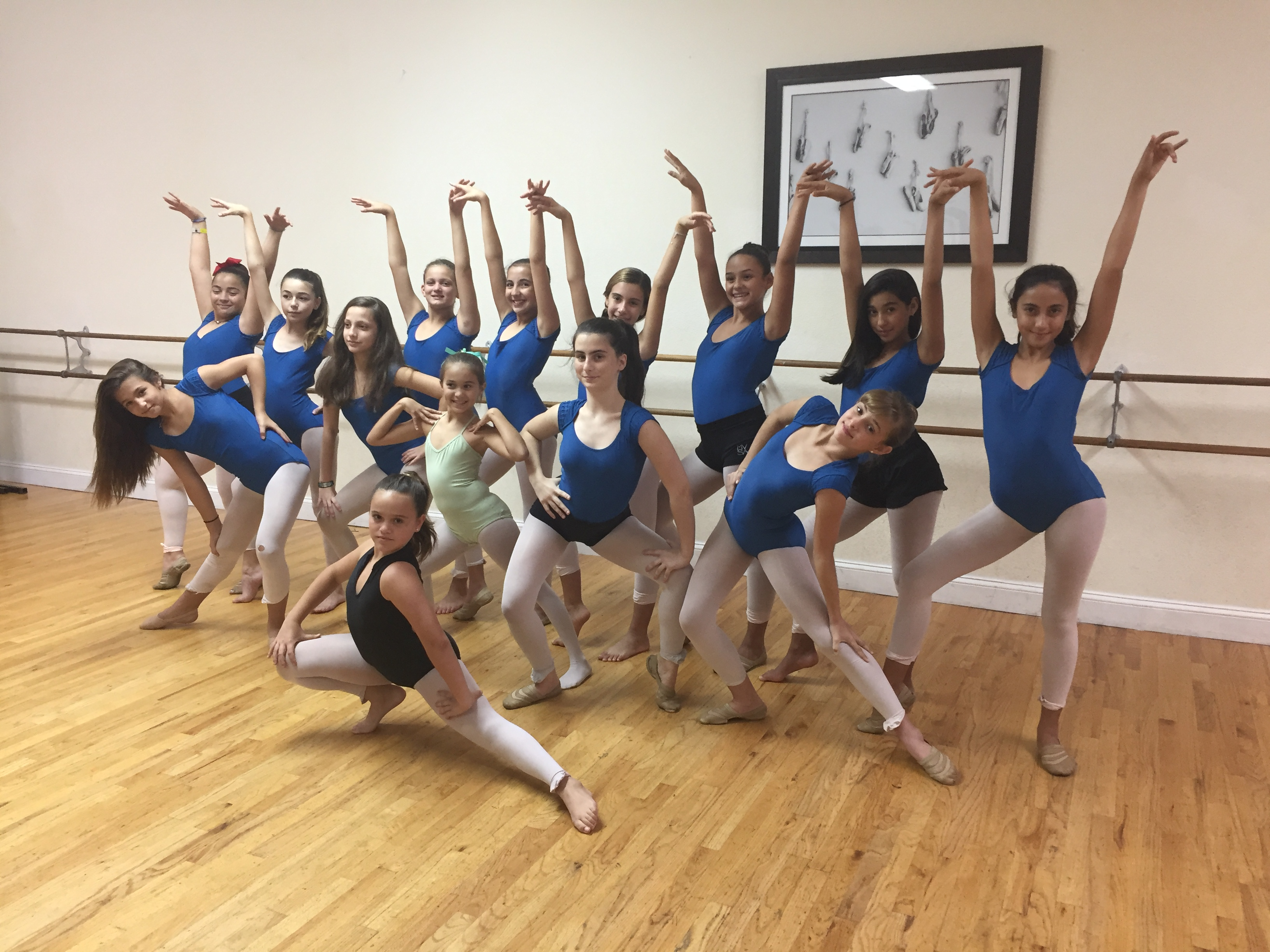 Latin Fusion class for girls