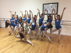 Latin Fusion class for girls