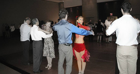 Dancing with thr Stars Miami at Temple Beth Am.