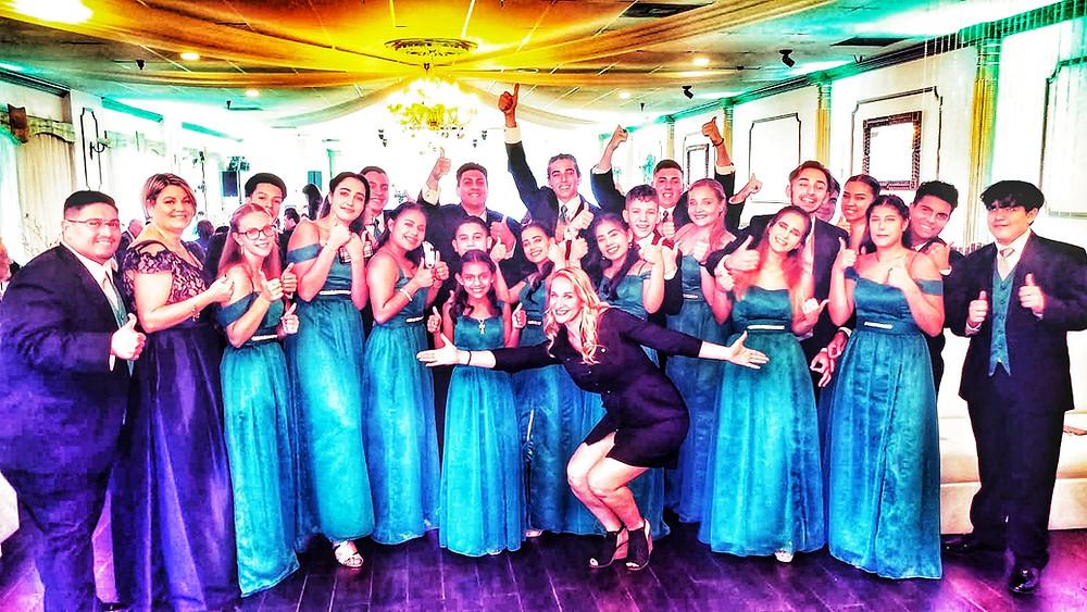 Miami quince dance choreography hosted by Eugenia Spotar and Myballroomlessons.com