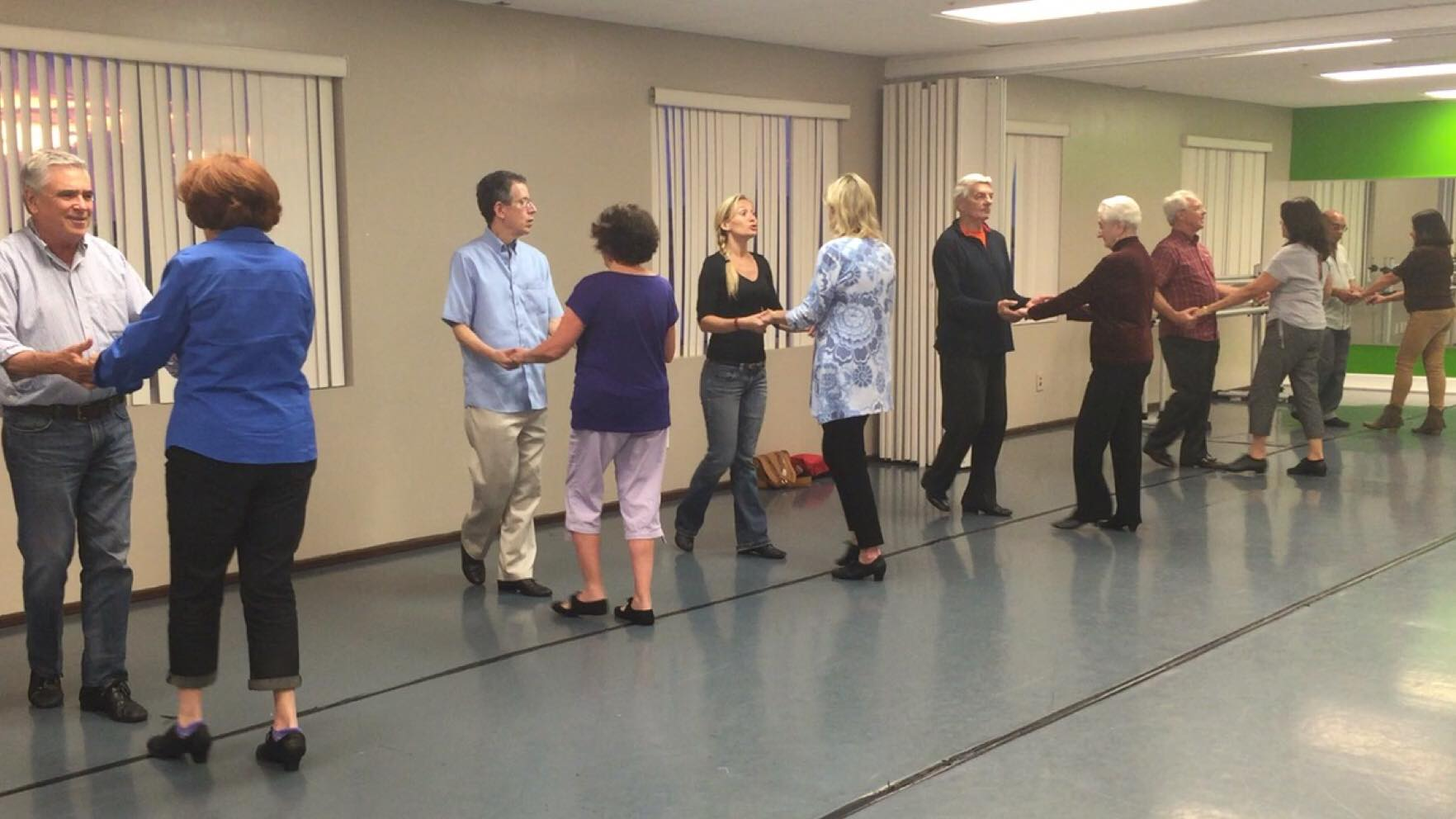 Group dance class Miami