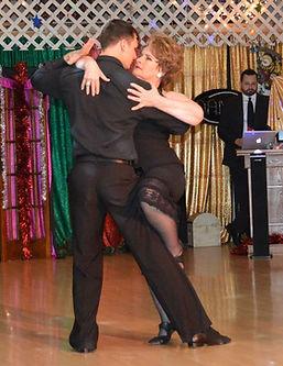 Pro-Amature Showcase performance Argentine tango