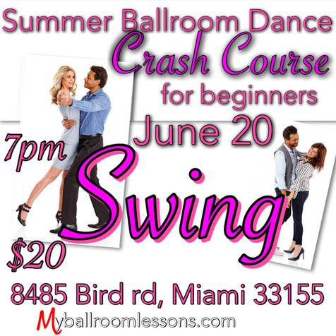 Swing class for beginners in Miami
