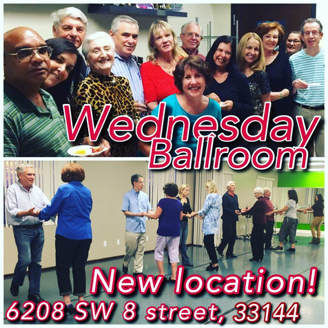 Ballroom dance classes for adults in Miami