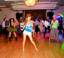 Country-Western Extravaganza 2014 , LIne dance lead by Eugenia Spotar