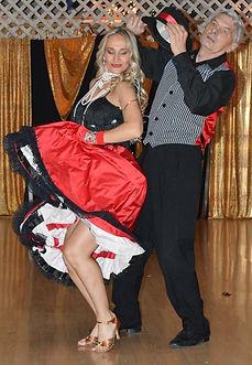 Eugenia and Jerry performing Salsa - Charlston Dance