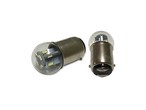 #90, #68, #632, #1178 | 12-Volt LED Replacement  (BA15D Base)