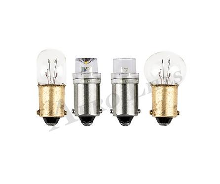 LED Miniature Bayonet Lamp | 28-Volt - Indicator