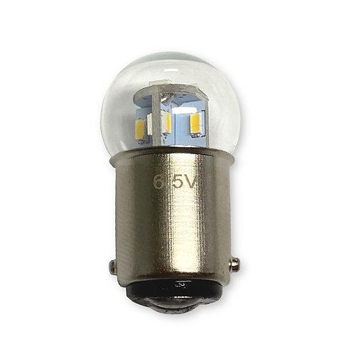 #82, #64 | 6.5-Volt BA15D Base LED Replacement