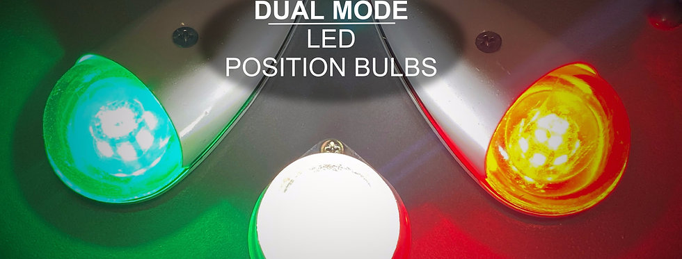 Constant/Strobe Dual-Mode Wing/Tail Position LED Kit | 12/28VDC Compatible