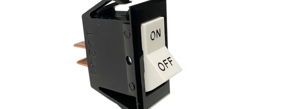 Cessna-Style Rocker Switch with Labels (ON-OFF )
