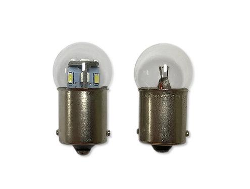 #89, #67, #97, #98, #1155 | Globe-Shape LED Replacement | 12-Volt