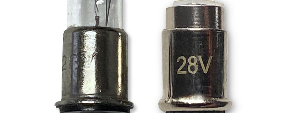 #327, #387 28-Volt Midget Flanged LED Replacement