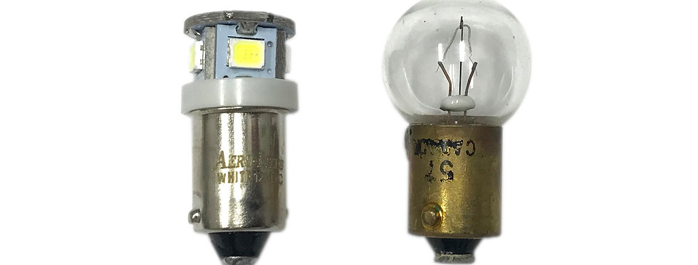 #53, 182, 57 High Output LED Replacement - 12/14VDC