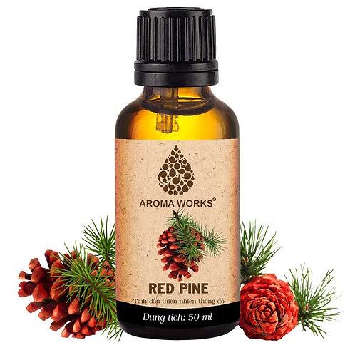 Tinh Dầu Thiên Nhiên Thông Đỏ Aroma Works Essential Oil Red Pine