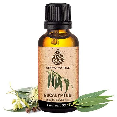 Tinh Dầu Thiên Nhiên Khuynh Diệp Aroma Works Essential Oil Eucalyptus