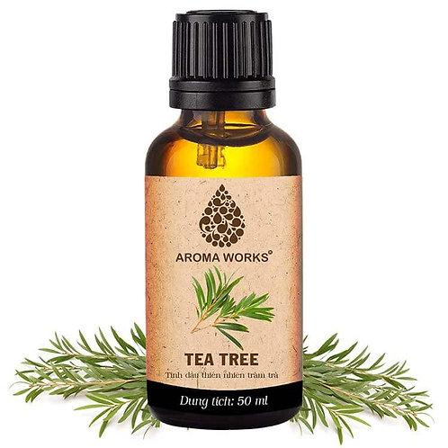 Tinh Dầu Thiên Nhiên Tràm Trà Aroma Works Essential Oil Tea Tree