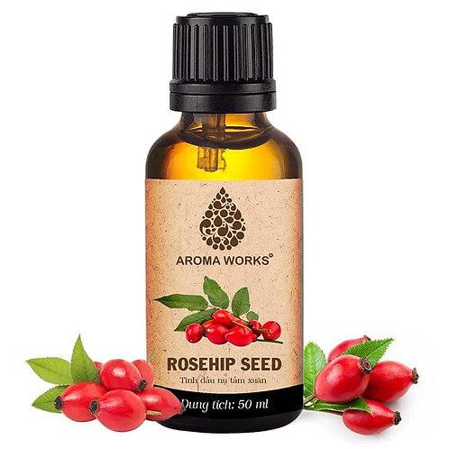 Tinh Dầu Thiên Nhiên Nụ Tầm Xuân Aroma Works Essential Oil Rosehip Seed