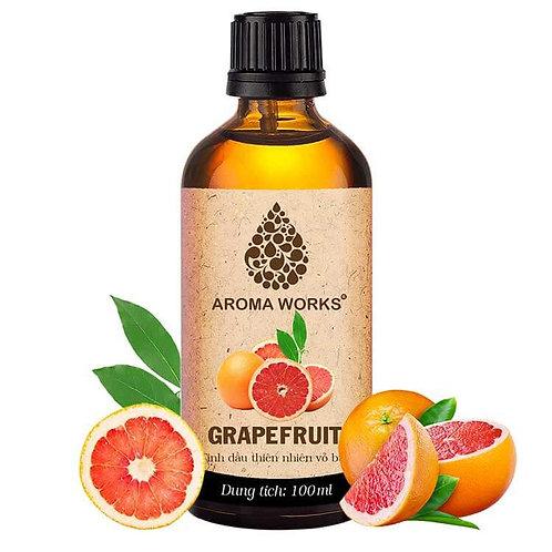 Tinh Dầu Thiên Nhiên Vỏ Bưởi Aroma Works Essential Oil Grapefruit