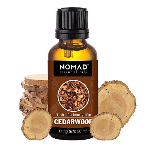 Tinh Dầu Thiên Nhiên Hoàng Đàn Nomad Cedarwood Oil
