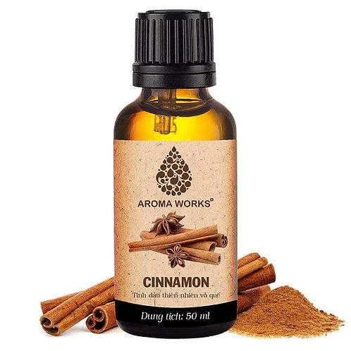 Tinh Dầu Thiên Nhiên Vỏ Quế Aroma Works Essential Oil Cinnamon