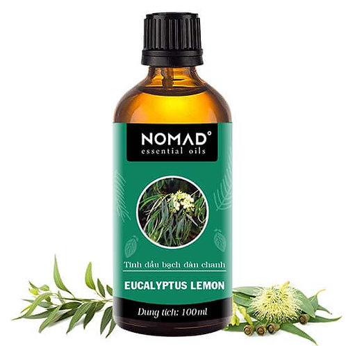 Tinh Dầu Thiên Nhiên Bạch Đàn Chanh Nomad Eucalyptus Lemon Essential Oil