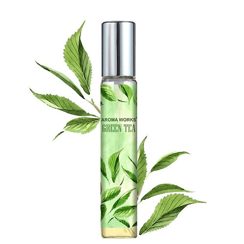 Nước Hoa Tinh Dầu Aroma Works Green Tea Essential Oil Perfume 10ml