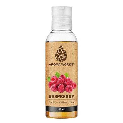 Dầu Mâm Xôi Nguyên Chất Aroma Works Raspberry Seed Oil 100ml