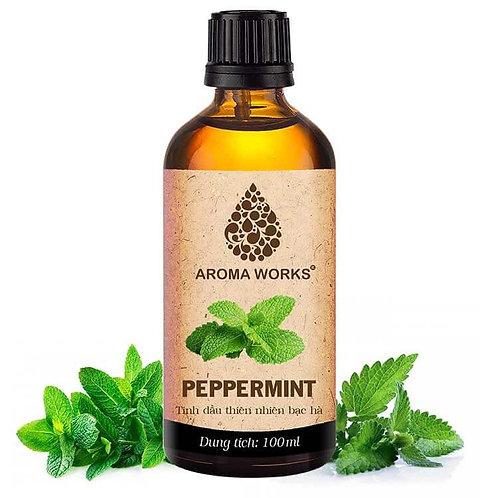Tinh Dầu Thiên Nhiên Bạc Hà Aroma Works Essential Oil Peppermint