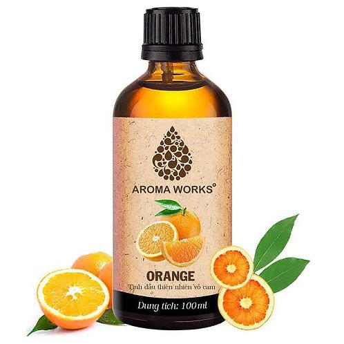 Tinh Dầu Thiên Nhiên Vỏ Cam Aroma Works Essential Oil Orange