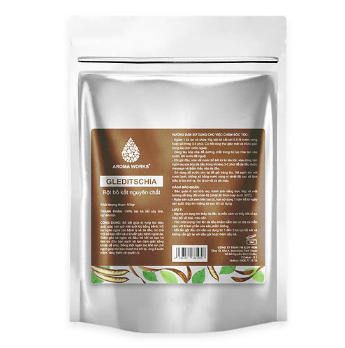 Bột Bồ Kết Nguyên Chất Aroma Works Gleditschia Powder - 100g