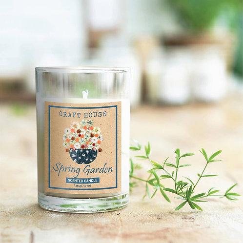 Nến Thơm Thiên Nhiên Craft House Natural Scented Candle -Spring Garden
