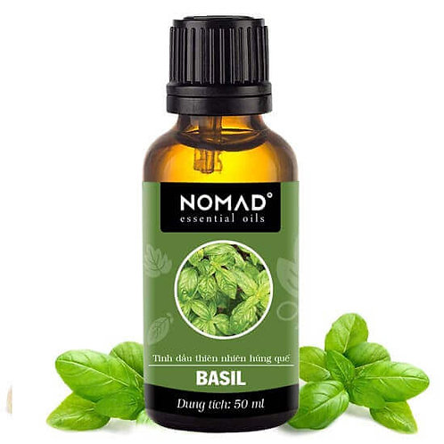 Tinh Dầu Thiên Nhiên Húng Quế Nomad Basil Essential Oil