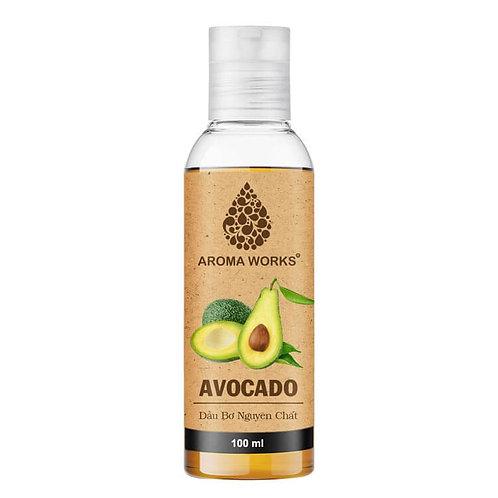 Dầu Bơ Nguyên Chất Aroma Works Avocado Oil 100ml