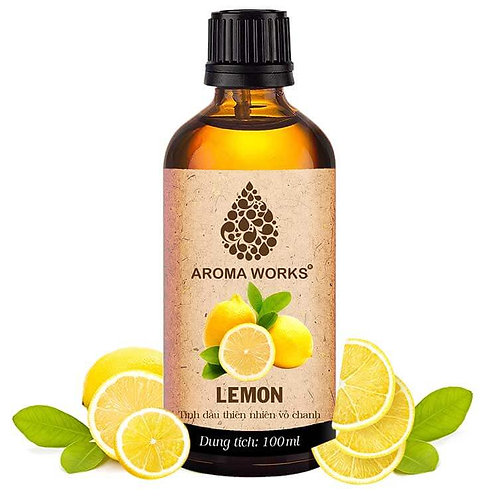Tinh Dầu Thiên Nhiên Vỏ Chanh Aroma Works Essential Oil Lemon