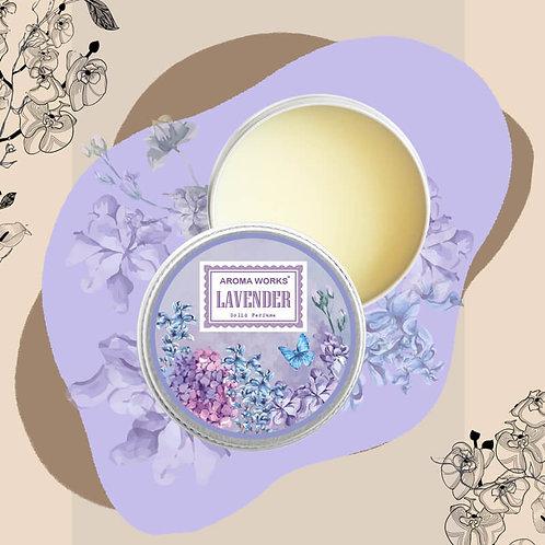 Nước Hoa Khô Aroma Works Solid Perfume 15g -Lavender