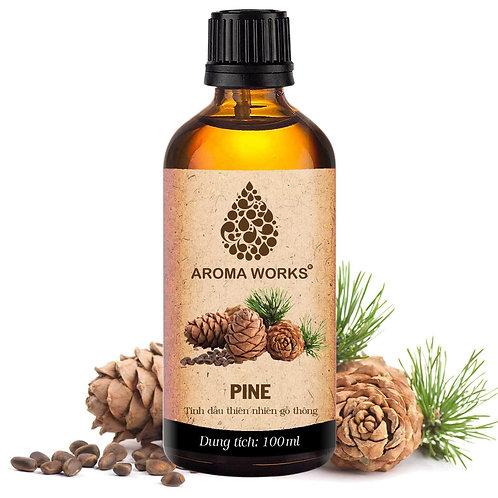 Tinh Dầu Thiên Nhiên Gỗ Thông Aroma Works Essential Oil Pine