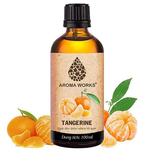 Tinh Dầu Thiên Nhiên Vỏ Quýt Aroma Works Essential Oil Tangerine