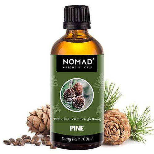 Tinh Dầu Thiên Nhiên Gỗ Thông Nomad Pine Essential Oil