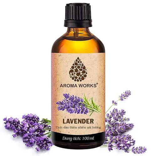 Tinh Dầu Thiên Nhiên Hoa Oải Hương Aroma Works Essential Oil Lavender