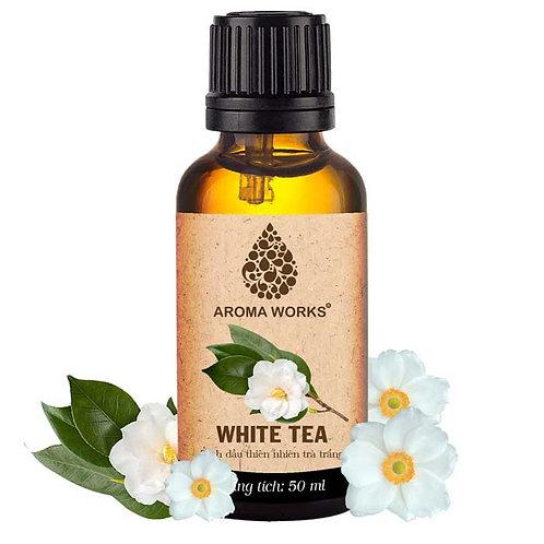 Tinh Dầu Thiên Nhiên Trà Trắng Aroma Works Essential Oil White Tea