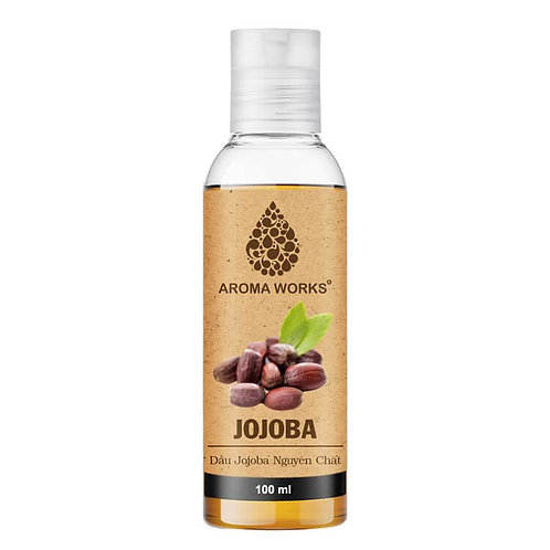 Dầu Jojoba Nguyên Chất Aroma Works Jojoba Oil 100ml