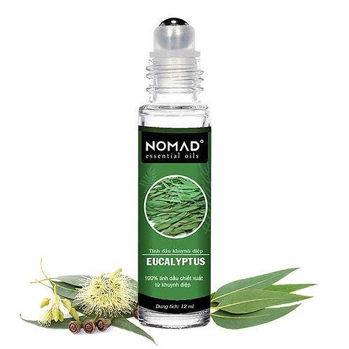 Tinh Dầu Dạng Lăn Khuynh Diệp Nomad Eucalyptus Essential Oil - Roll On 12ml