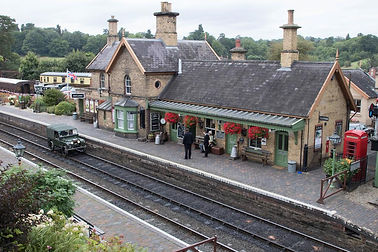 Plimsoll passing Arley station on Classi