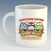 Severn Valley Diesels Mug - Lockdown Edi