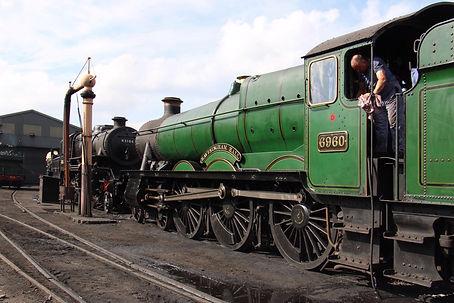 6960 Raveningham Hall on shed on her last day in traffic on 1st July 2021 John Sherratt  (