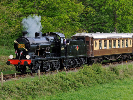 Three first-time visitors for 2019 Autumn Steam Gala