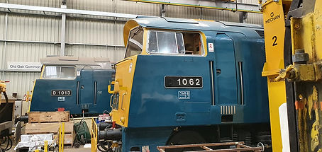 D1013 and D1062 at Kidderminster TMD 12t